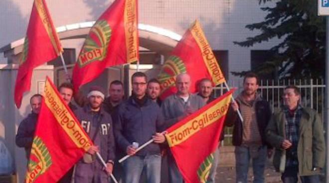Sciopero all'Eurodies di Lurano
