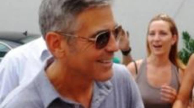 George Clooney a Sarnico a fine luglio