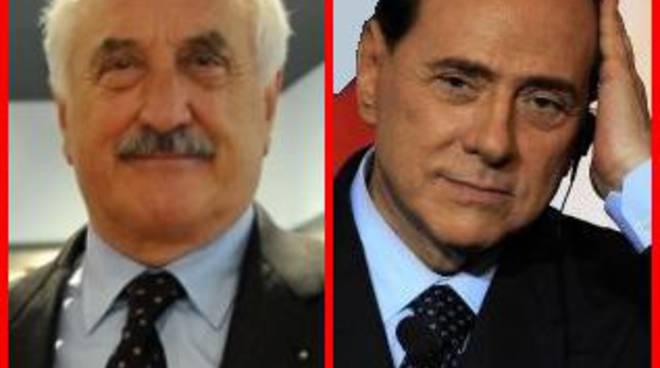 Alberto Bombassei e Silvio Berlusconi