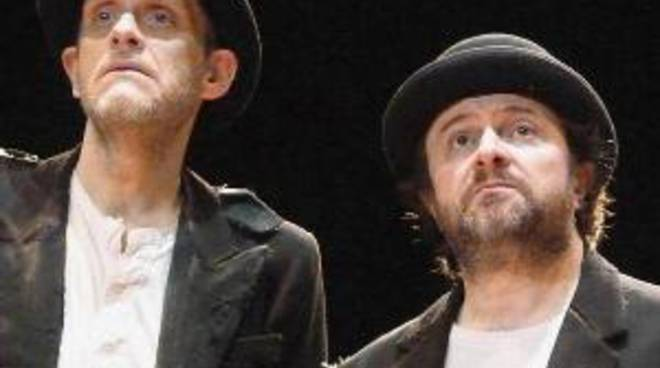 Aspettando Godot, di Samuel Beckett nella versione di Natalino Balasso e Jurij Ferrini