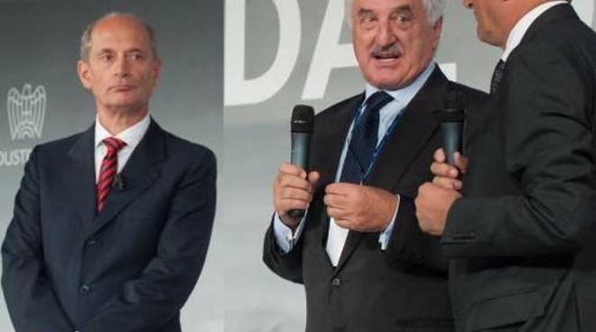 Carlo Mazzoleni, Alberto Bombassei e Gianluigi Viscardi