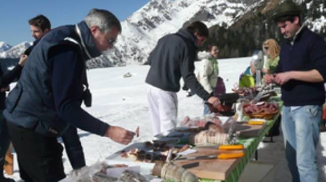 Ciaspolate gastronomiche in Alta Valle Brembana