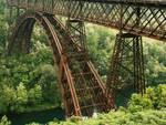 Il ponte che collega Calusco a Trezzo sull'Adda