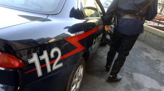Carabinieri a Fara Gera d'Adda