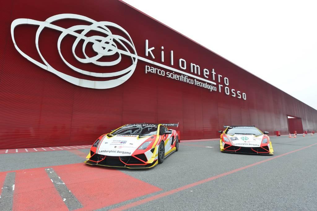 Il Kilometro Rosso sponsor del Team Lamborghini Bergamo