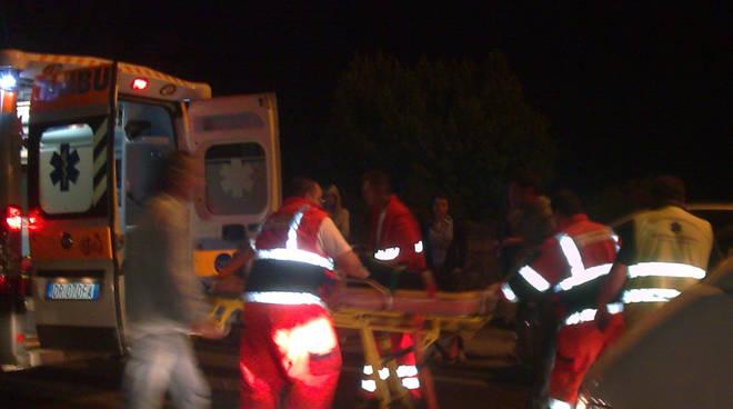 Scontro all'alba in galleria sull'asse a Bonate Sopra: 3 feriti