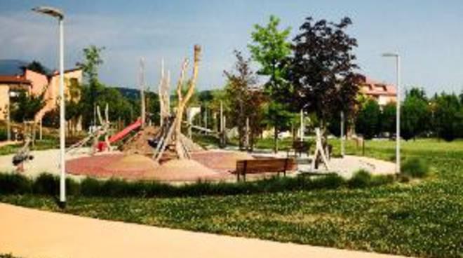 Il parco delle scuole di Torre Boldone