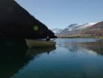 Livigno inaugura il lago per gli sport acquatici