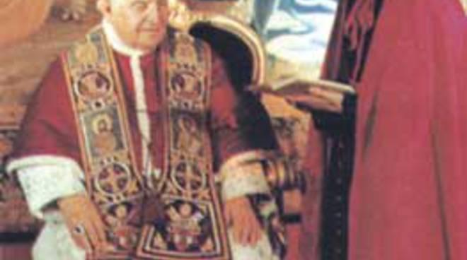 Papa Giovanni XXIII e il suo segretario Loris Capovilla