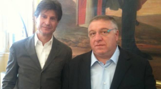 Riccardo Previtali e Carlo Vimercati