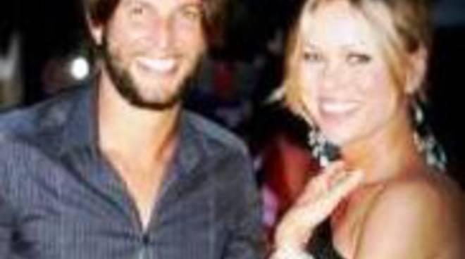Cristiano Doni con la compagna Ingrid