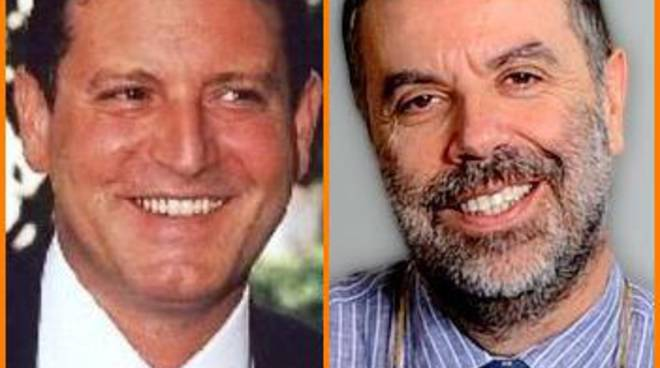Gigi Riva e Paolo Madron al convegno sull'informazione per la festa di Bergamonews