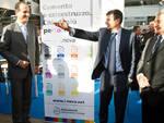 Fabrizio Pedetta, direttore Italia di Italcementi riceve il Ministro Lupi
