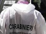 I carabinieri della scientifica