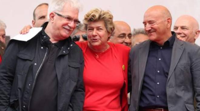 Susanna Camusso, Raffaele Bonanni e Luigi Angeletti