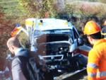 Pontida, treno investe ambulanza: due morti
