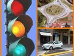 Semafori, rotonde e spartitraffico