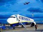 Un aereo di Ryanair