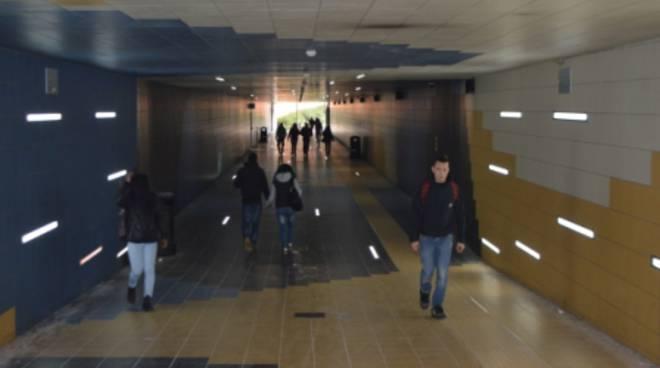 Bergamo, sopralluogo al sottopasso della stazione