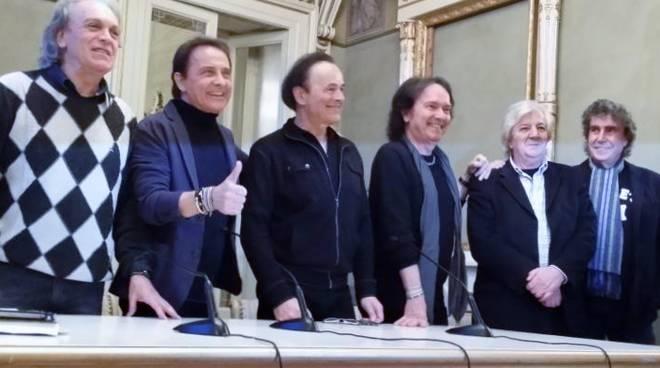 La storica reunion dei Pooh al Donizetti