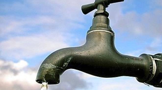 domenica 9 marzo, sospensione della fornitura di acqua