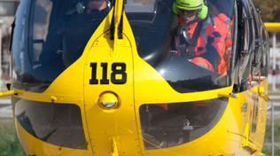Elicottero del soccorso