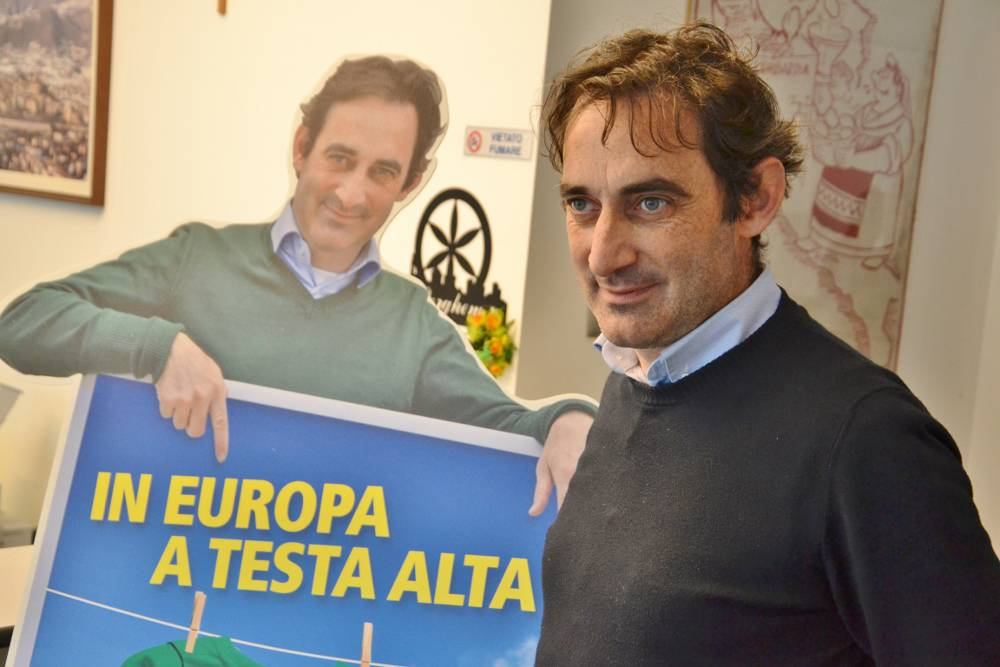 Daniele Belotti in corsa per le Europee
