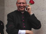 Don Claudio Dolcini, parroco di Sotto il Monte