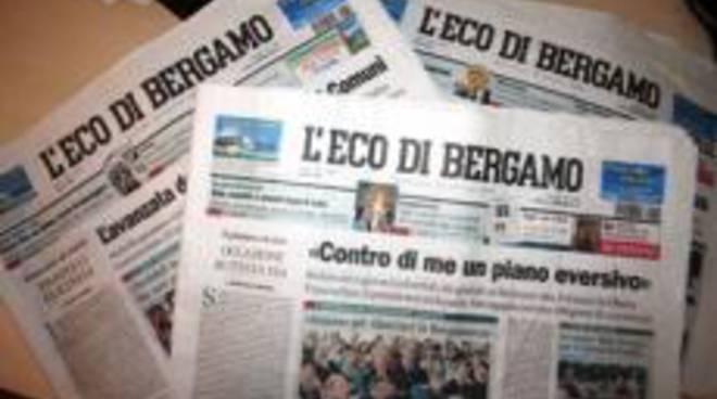 Esuberi all'Eco di Bergamo