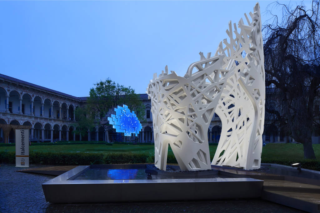 Expo, Palazzo Italia coi cementi Italcementi