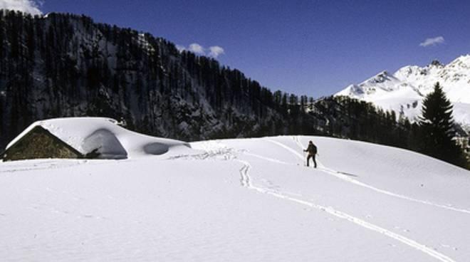 Scialpinismo in val Terzera