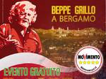 Beppe Grillo a Bergamo il 23 maggio
