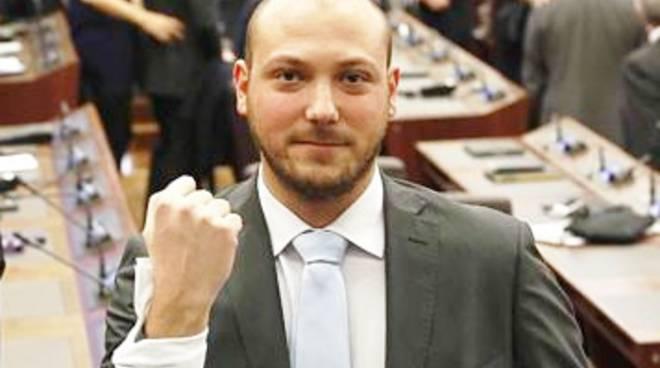 Dario Violi, consigliere 5 Stelle