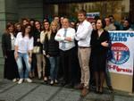 Il gruppo dell'Udc con Franco Tentorio