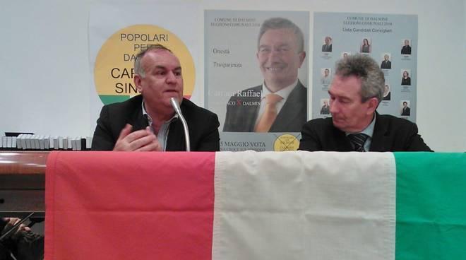 Il senato Marco Pagnoncelli a Dalmine