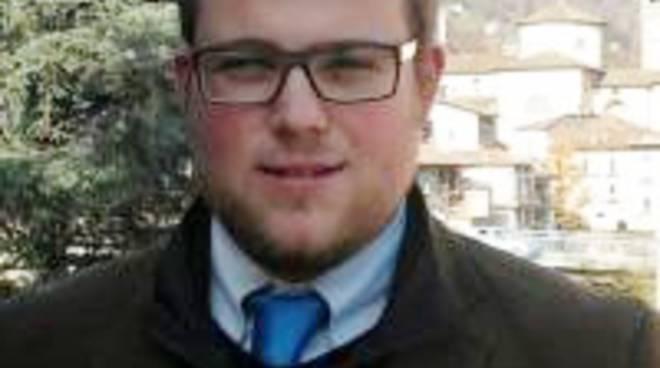 Jonathan Lobati, 26 anni, sindaco di Lenna: è il più giovane a Bergamo