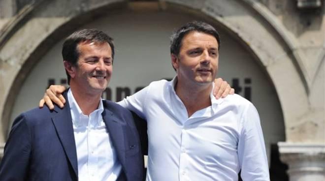 Matteo Renzi a Bergamo - 1