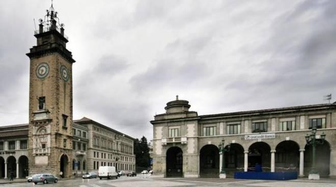 Nuvole su Bergamo