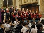 Concerto nella parrocchia di san Giovanni  Battista della corale Santa Cecilia.