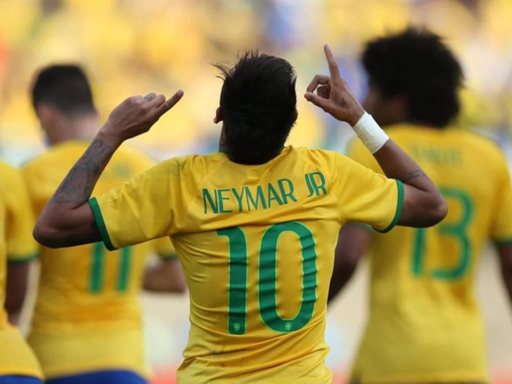 la gioia di Neymar