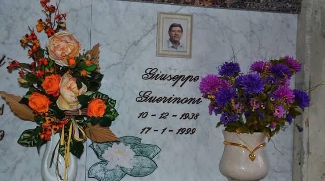 La tomba di giuseppe Guerinoni, padre del killer di Yara