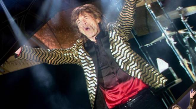Spettacolo Rolling Stones a Roma