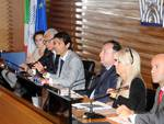 Un momento dell'incontro in Confindustria Bergamo