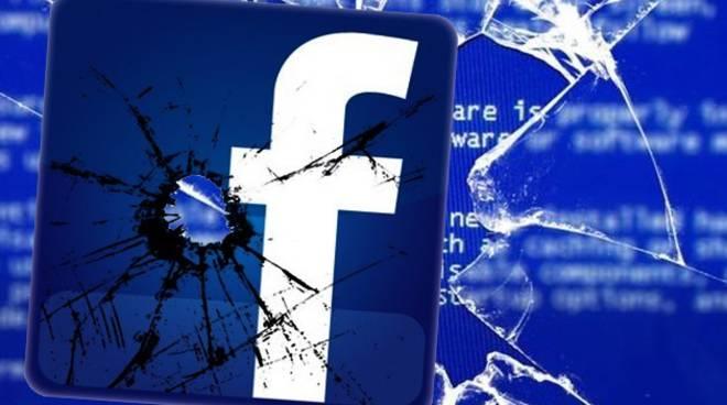 Facebook down venerdì pomeriggio