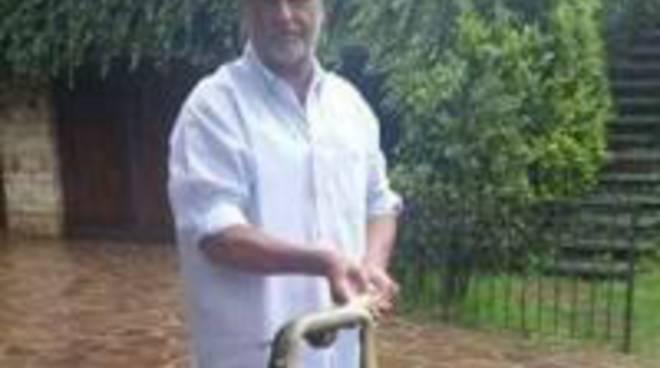 Il senatore Calderoli e il serpente ucciso nella sua proprietà