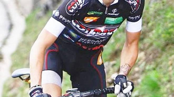 L'abruzzese del Team Colpack Giulio Ciccone