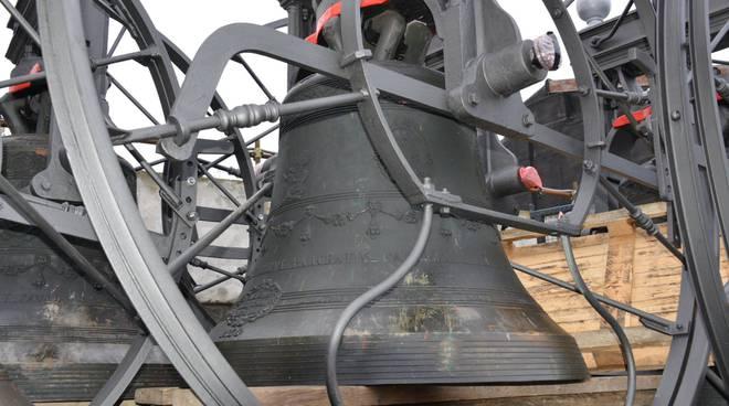 """Campane """"a nuovo"""" per il campanile di Gorlago"""