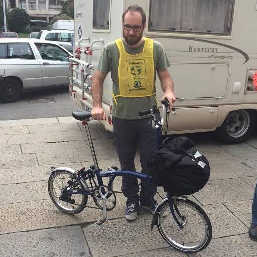 Stefano Zenoni, vincitore del premio Tartaruga di Legambiente