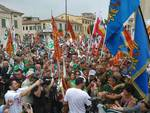 Grande manifestazione leghista a Milano