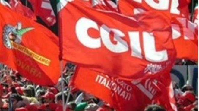 Manifestazione della Cgil